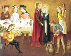 Le sacrement de mariage (Noces de Cana)