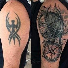 Cover up tattoo Cover Up Tattoos, Ideas, Tatoo, Tatuajes, Tattoos Cover Up, Thoughts, Covering Tattoos