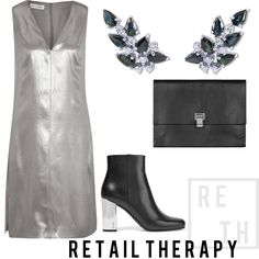 #RetailTherapy Silver, black and a pop of blue. Dress by @narciso_rodriguez, available at @netaporter. #AyvaJewelry #StartYourStory #retail #retailtherapy #silver #gold #whitegold #blue #black #accessories #accessorize #edgy #badass #cool #coolgirlstyle #chic #holychic #fashion #highfashion #OOTD #outfit #narcisorodriguez #netaporter #love