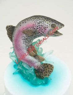 trout cake topper tutorial