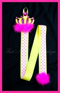 princess hairbow holder