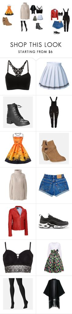 """plus size"" by emmyakinyi on Polyvore featuring Avenue, Dollhouse, Lands' End, NIKE, Ashley Graham and plus size clothing"