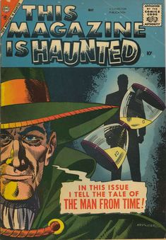 Comic Book Cover For This Magazine Is Haunted v2 #16