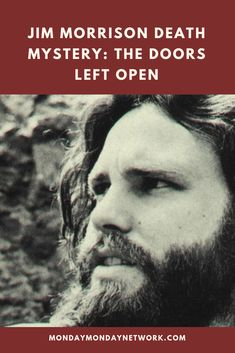 Since 1973 the general public has widely accepted the Jim Morrison death as another drug addict rock star burning out. Not surprisingly most people have only a clue as to what caused Jim Morrison's death. Jim Morrison Death, Rock And Roll Artists, Monday Monday, Rock N Roll Music, American Poets, Live Rock, Jimi Hendrix, Mystery, Public