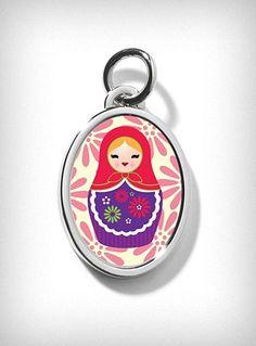 Babushka Russian Doll Charm
