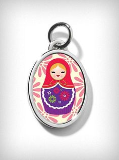 Matryoshka Russian Doll Charm  $11.00