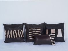 Zebra Scatter Cushions - Fellowes Africa