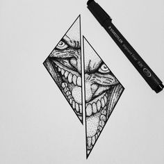 Fresh WTFDotworkTattoo Find Fresh from the Web Why So serious? #iblackwork…