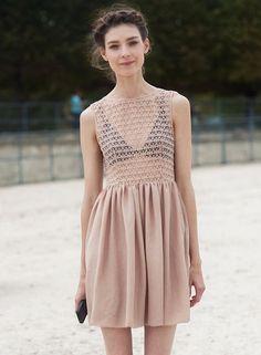 ecbaeee03358a American Apparel Dress Spring Look