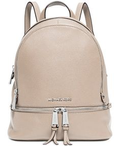 MICHAEL Michael Kors Rhea Zip Medium Backpack | macys.com