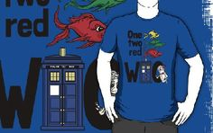 Who Fish T Shirt    A grear Doctor Who inspired tee from Ameda Nowlin