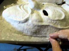 How to Make a Mask (Plaster Cloth Method) Part 4