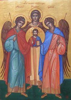 Salve 29 de Setembro ! Salve Arcanjos Miguel, Gabriel e Rafael ! - Portal Arco Íris-Núcleo de Integração e Cura Cósmica