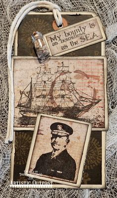 Thank you for visiting on this wonderful Friday and today I would love to share with you a masculine tag using The Captain  and Vagabond Tre...