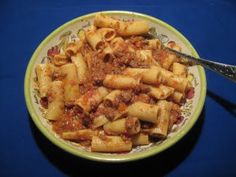 Cooking with Joey: Rigatoni alla Bolognese