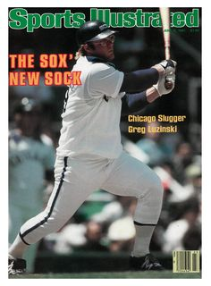 June 1981 Sports Illustrated via Getty Images Cover: Baseball: Chicago White Sox Greg Luzinski in action, at bat vs California Angels. Chicago, IL Get premium, high resolution news photos at Getty Images Chicago Baseball, White Sox Baseball, Baseball Classic, Baseball Star, Baseball League, Baseball Girls, Chicago White Sox, Chicago Bears, Greg Luzinski