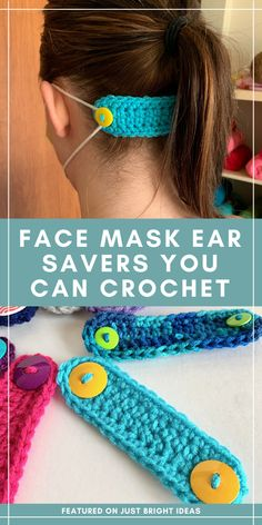 Have you been wondering what you could do to support the frontline while we're in lockdown? How about making some of these super easy, ear savers for Crochet Crafts, Easy Crochet, Crochet Projects, Free Crochet, Knit Crochet, Crochet Birds, Crochet Food, Crochet Animals, Ravelry Crochet