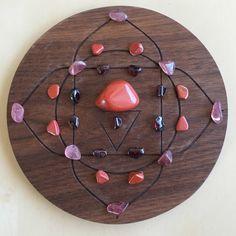 °1st Root Chakra Crystal Grid