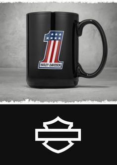 Ceramic Mug at the Official Harley-Davidson Online Store. Be the first in the office to get that fresh cup of coffee with the Ceramic Mug. If the caffeine doesn't keep you alert, the bold red-white-&-blue team graphics will. Harley Davidson Online Store, Riding Gear, Motorcycle Parts And Accessories, Harley Davidson Motorcycles, Bobber, Coffee Cups, Red And White, Ceramics, Caffeine