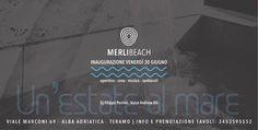 MERLIBEACH - Alba Adriatica | Eventi Teramo #eventiteramo #eventabruzzo