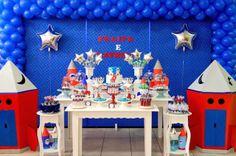Festa do Astronauta! Party ideia