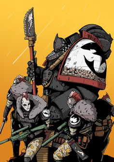 Carcharodons - formerly known as the Space Sharks.