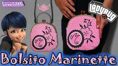 ♥ Tutorial: Bolsito Marinette    Miraculous Ladybug ♥
