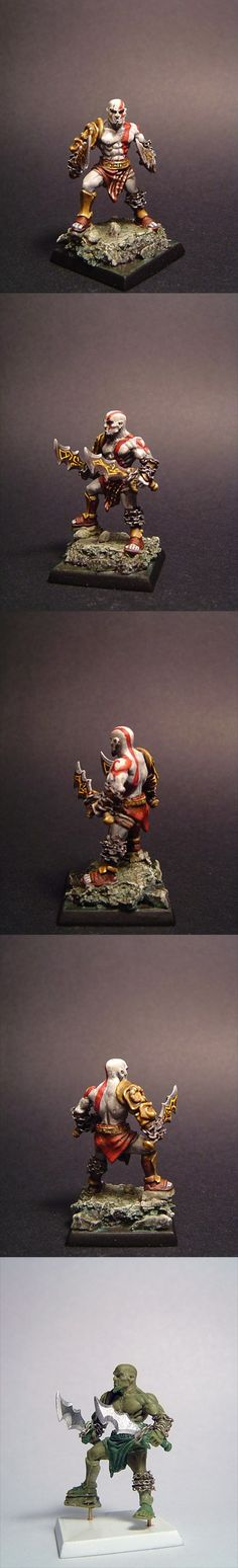 God of War Kratos- so not warhammer but it made me laugh. It's cool!