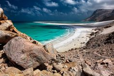 Socotra is a mountainous, arid, and remote island in the Arabian Sea, about 150 miles off the horn of Africa.