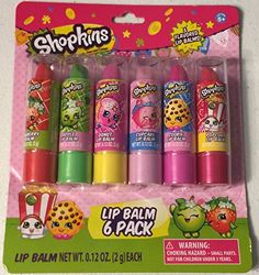 Shopkins 6 Pack Lip Balm - Once You Shop You Can't Stop: Shopkins Lip Balm and Strawberry Kiss Tin Surprises with Tsum Tsums Shopkins 6 Pack Lip Balm 6 Fun Shopkins Flavors For Ages Little Girl Toys, Baby Girl Toys, Toys For Girls, Makeup Kit For Kids, Kids Makeup, Baby Alive Dolls, Baby Dolls, Rosalie, Kawaii Room