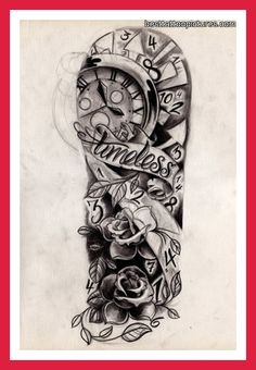 Half+Sleeve+Tattoos+For+Men+Black+And+Grey | half sleeve tattoo designs for men black and white