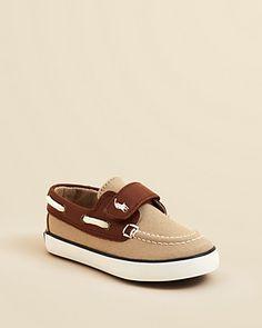Ralph Lauren Childrenswear Boys' Sander Boat Shoes - Walker, Toddler   Bloomingdale's