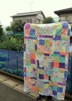 Kate Spain Blog Hop: The Koufuku Quilt   Blossom Heart Quilts  Good Fortune fabric