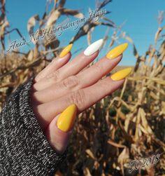 #autumnnails #autumn #jesień #jesiennie #jesiennepaznokcie #paznokcie #Nails #Nailart #yellow #yellownails #żółty #żółtepaznokcie #jesiennyspacer #AnkaNaHybrydowymHaju #budowapaznokci #budowa Amazing Nails, Almond Nails, Autumn Nails, Opi, Fun Nails, Nail Ideas, Nail Art, Makeup, Fotografia