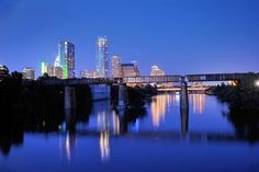 Forrest McCoy shared this photo of the Austin skyline with us via ReportIt@kxan.com