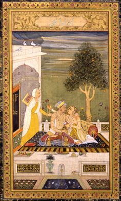 Jahangir with a Lady