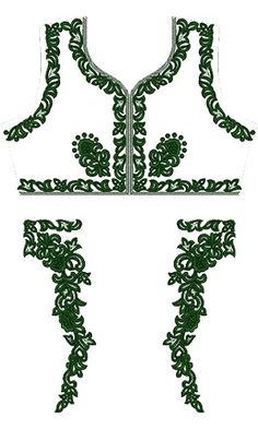 Maxi kaftan Dress Embroidery Design 12438