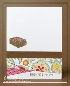 MWH: August's Stamp of the Month set - A Chocolate Affair!