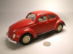 Vintage Tonka Pressed Steel VW Beetle Nice : Lot 7