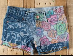 Ideas de como decorar shorts paso a paso