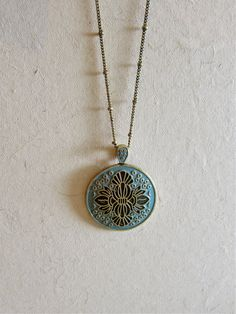 The Layla - Teal & Black, set in antique bronze **Call or email to order! 615.794.0074 philanthropyfashion.com**