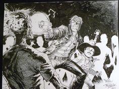 Resultado de imagen de Tony Moore the walking dead