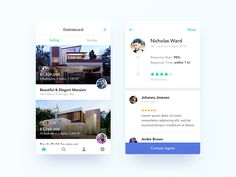 Real Estate App UI Design by Nimasha Perera #Design Popular #Dribbble #shots