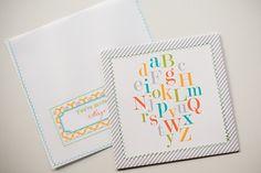 Alphabet Baby Shower