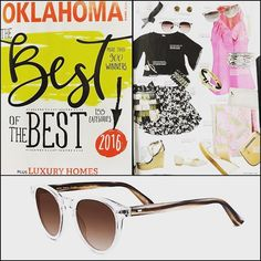 Our sunglasses by @samaeyewear are featured in the July issue of Oklahoma Magazine on page 29 in the Life & Style section! . .  @oklahoma_mag #myhbe #hicksbrunsoneyewear #uticasquare #oklahomamagazine #eyewant #fashionblogger #styleblogger #sunglasses #sunnies #samaeyewear #tulsa #tulsaok #oklahomabotique #eyewearshop #eyewearstore #sunglassesshop #eyewear #eyeglasses @hicksbrunson_eyewear