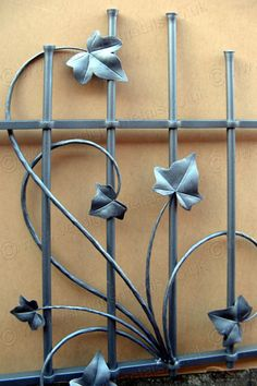J53: Forged Steel Ivy Security Grill