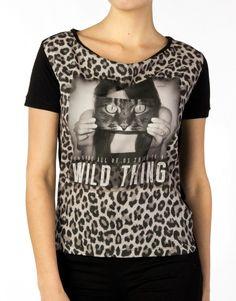 Catwalk Junkie T-shirt - Cats Black