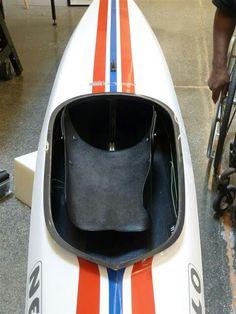 Custom kayak seat