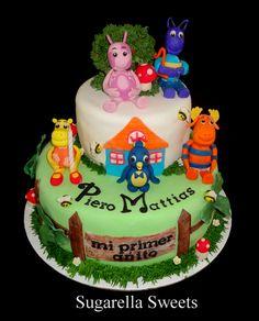 Backyardigans cake perfect for kids theme