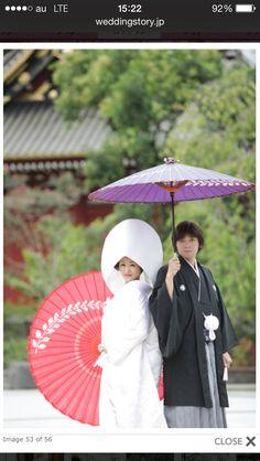 素敵な番傘の持ち方
